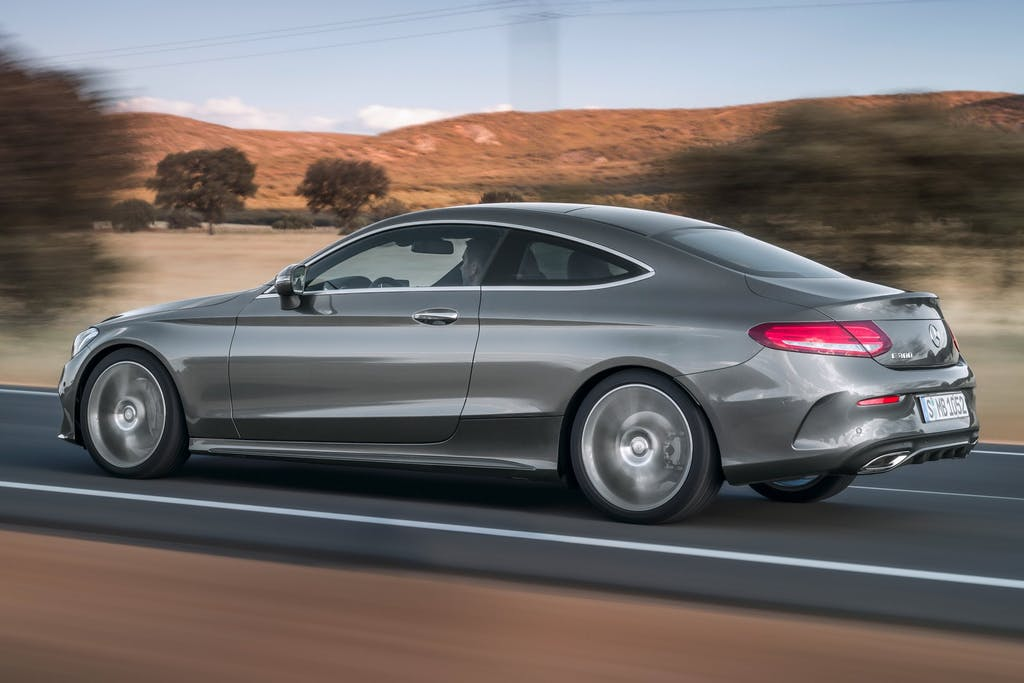 Mercedes-Benz Classe C Coupé: spazio allo sport