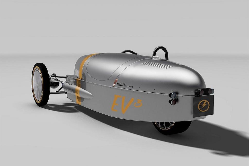 Morgan EV3: il triciclo è elettrico