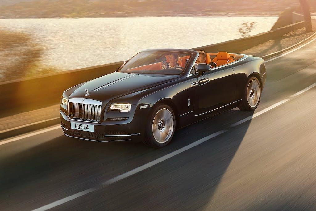 Rolls-Royce Dawn: lusso a cielo aperto