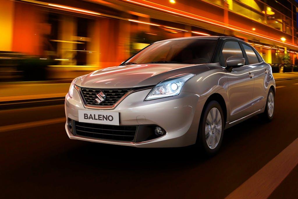 Suzuki Baleno: 1.0 turbo e sistema microibrido