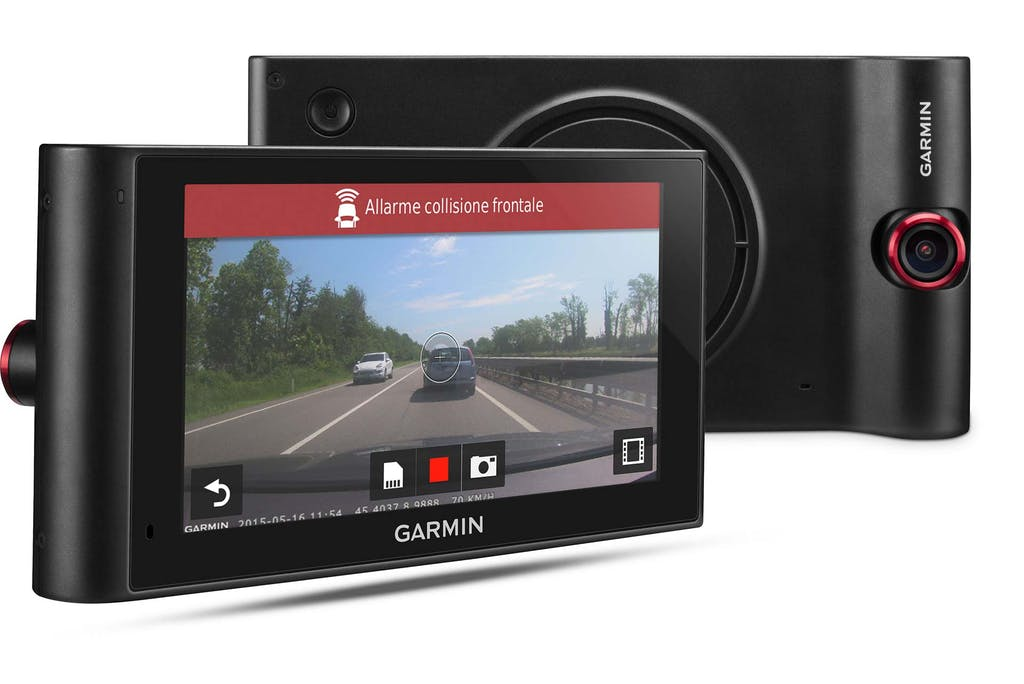 Garmin nuviCam, è anche un navigatore