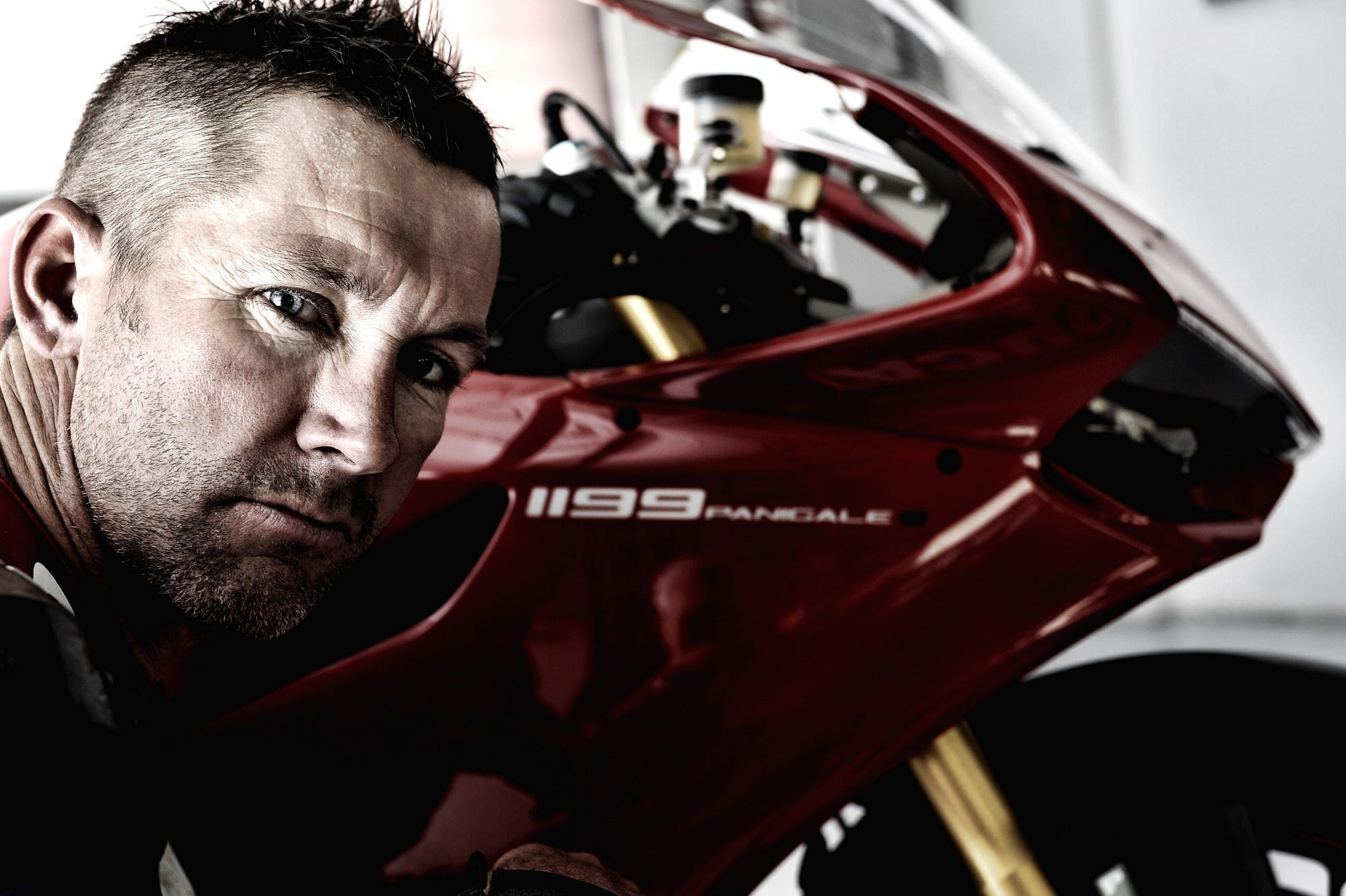 Troy bayliss e Ducati 1199 Panigale