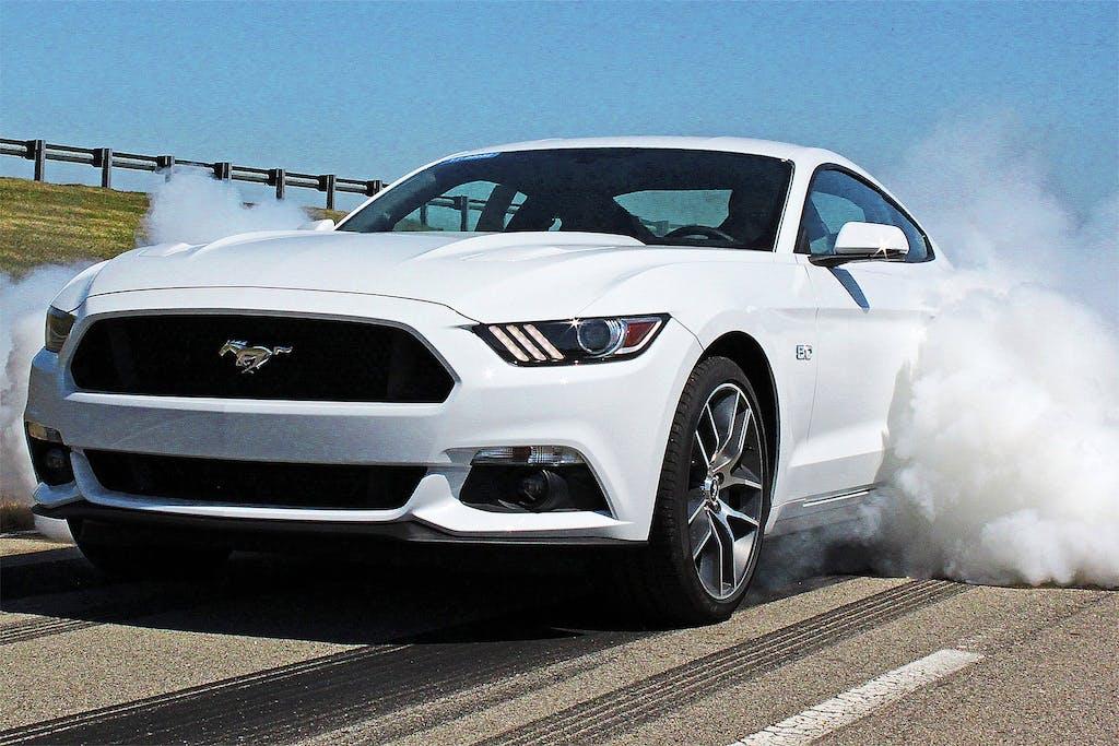 Ford Mustang: il burnout è servito