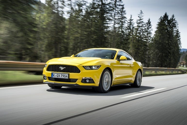 Ford Mustang Photo: James Lipman / jameslipman.com