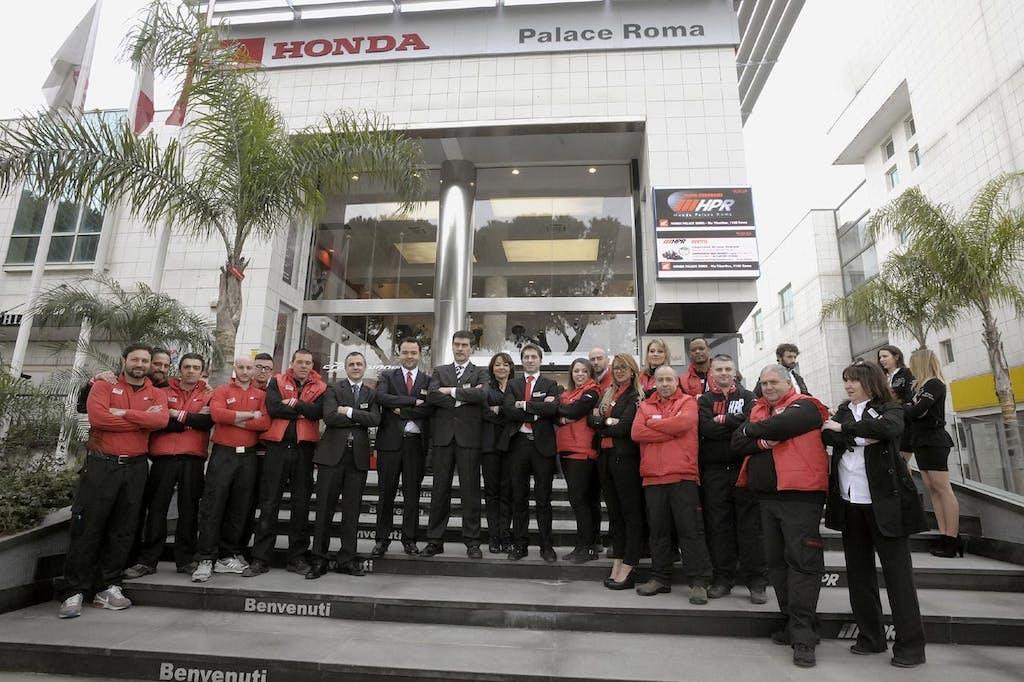 Honda Palace Roma: inaugurazione nel nome della MotoGP