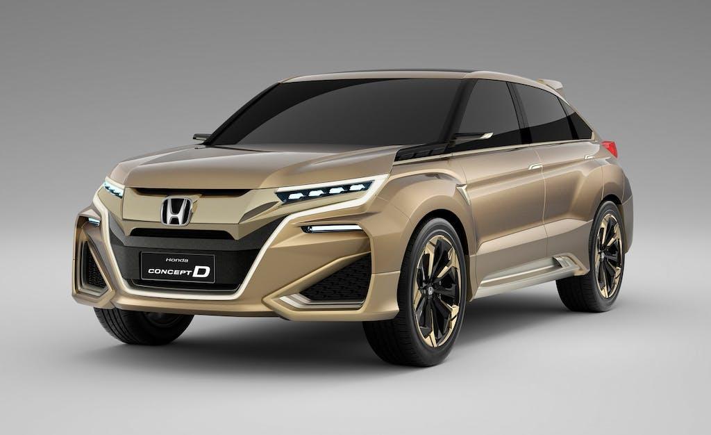 Honda Concept D: pronta per un cartoon