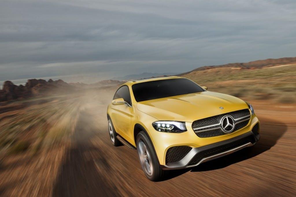 Mercedes-Benz GLC Coupé concept: caccia aperta