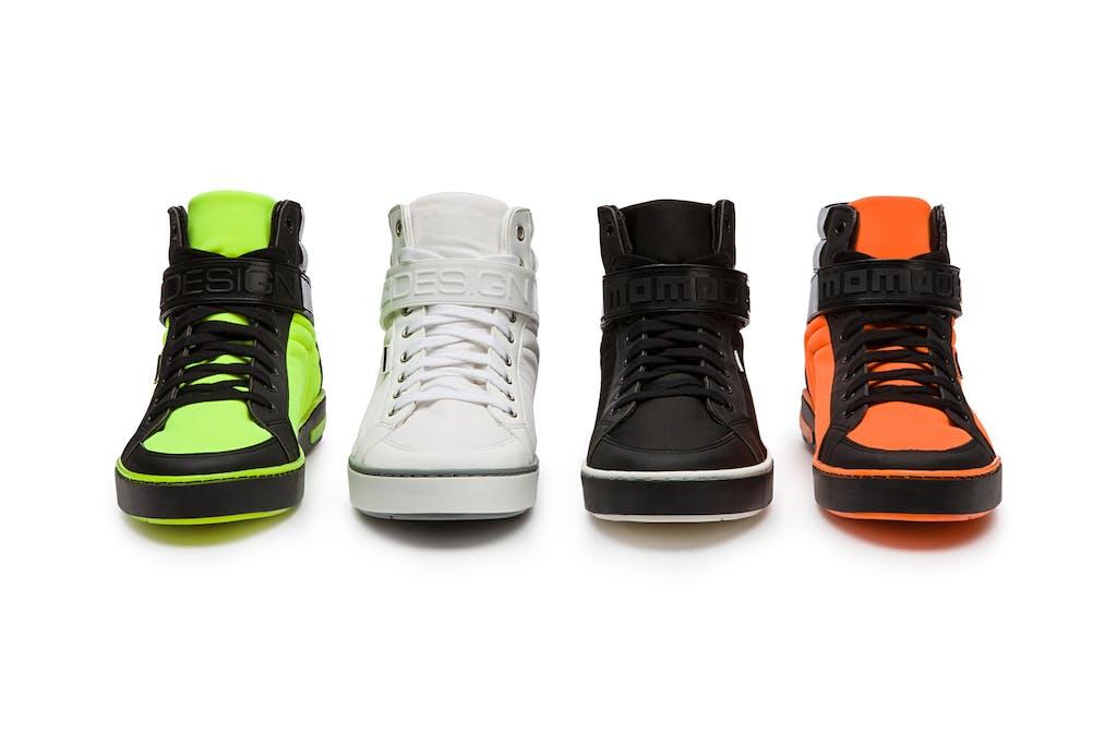 Momodesign, le nuove sneaker fluo per la città