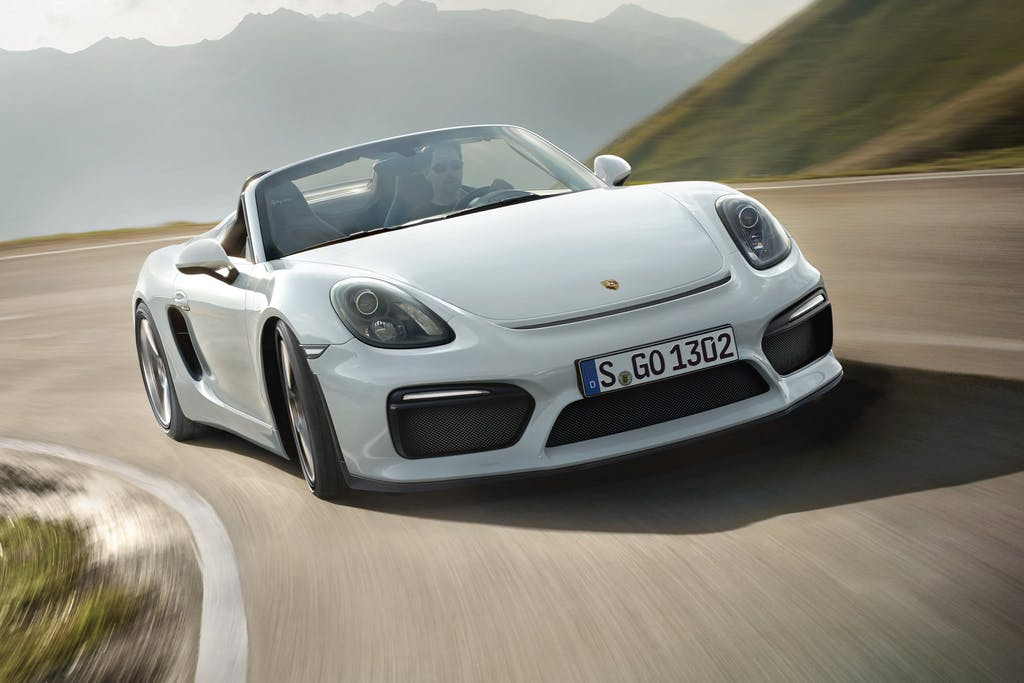 Porsche Boxster Spyder: torna all'essenziale