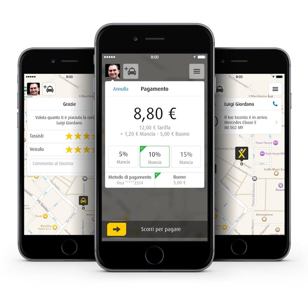 Al via la MyTaxi revolution: l'App per i taxi sbarca a Milano