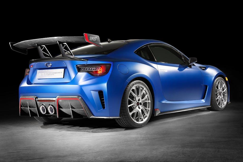 Subaru BRZ STI Performance Concept: prove di turbo