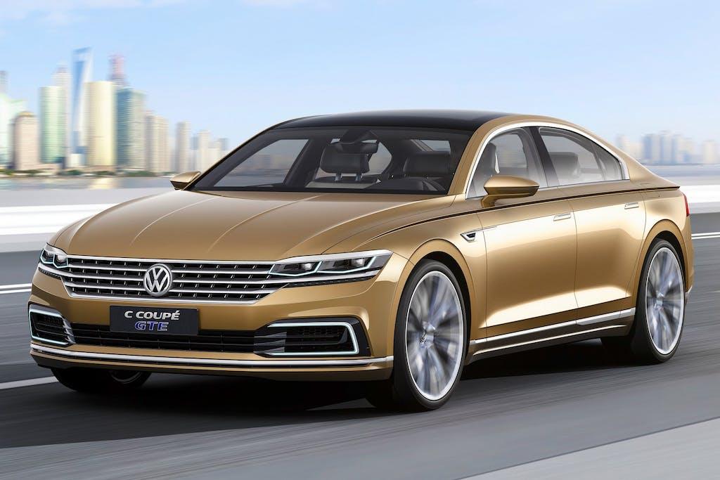 Volkswagen C Coupé GTE: viaggi col maggiordomo
