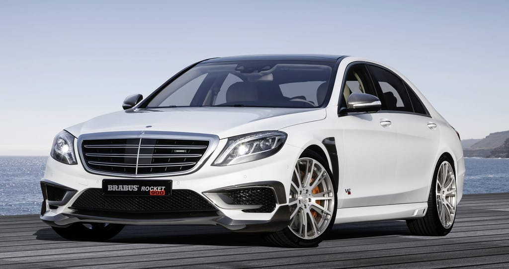 Brabus Rocket 900: over the top