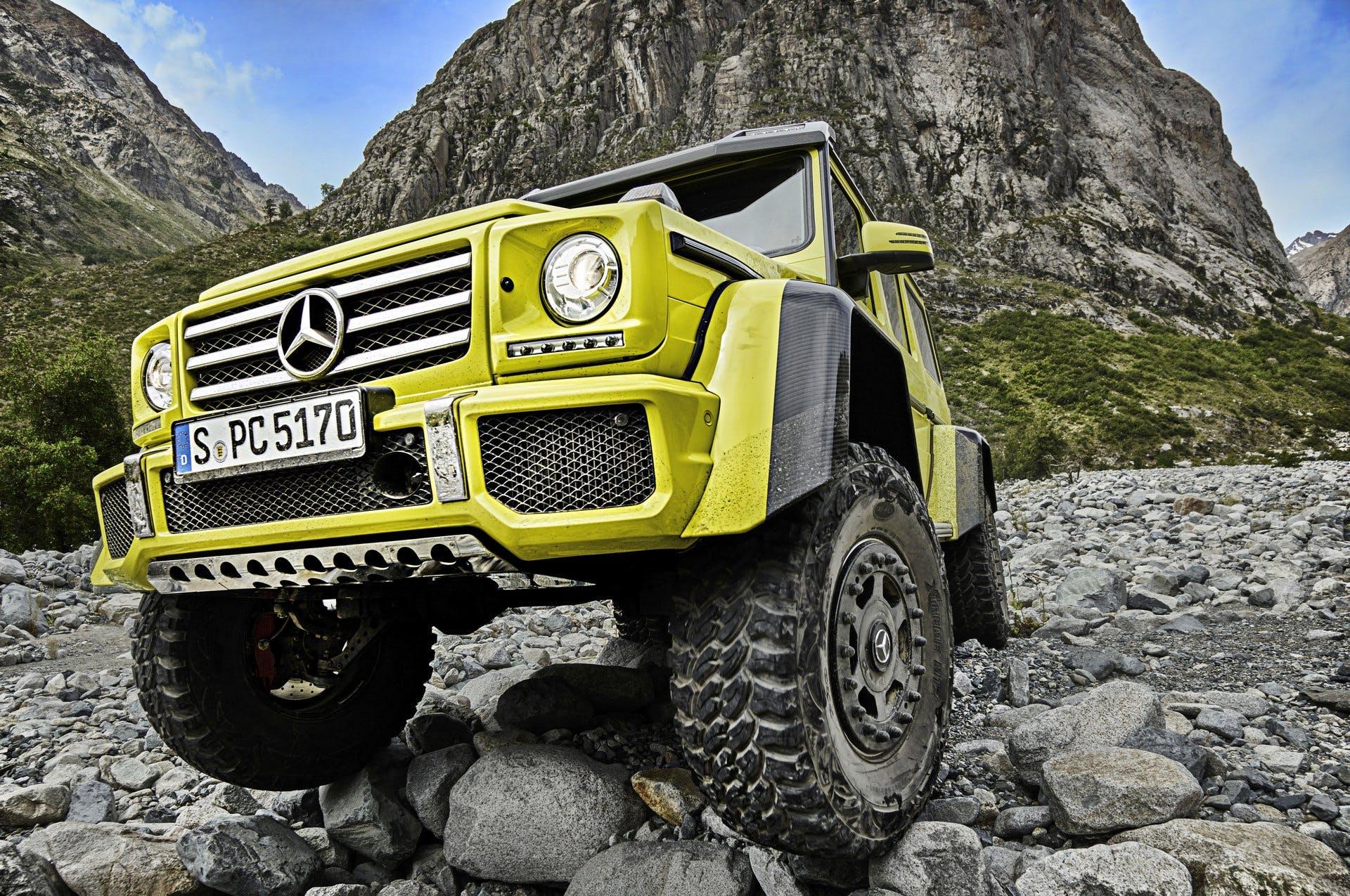 Mercedes-Benz G500 4x4² Showcar