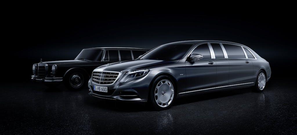 Mercedes-Maybach Pullman: l'auto dei Re