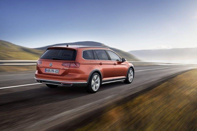 Der neue Volkswagen Passat Alltrack