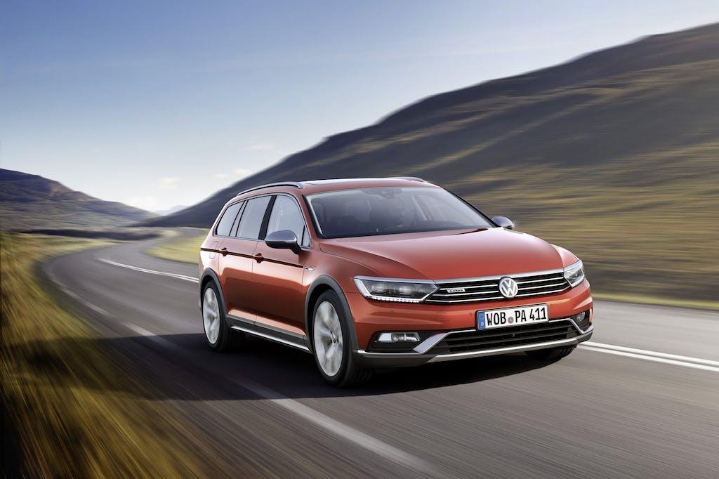 Volkswagen Passat Alltrack: anima off road