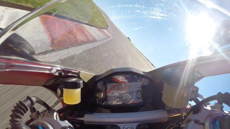 Ducati 1299 Panigale S On Board Portimao
