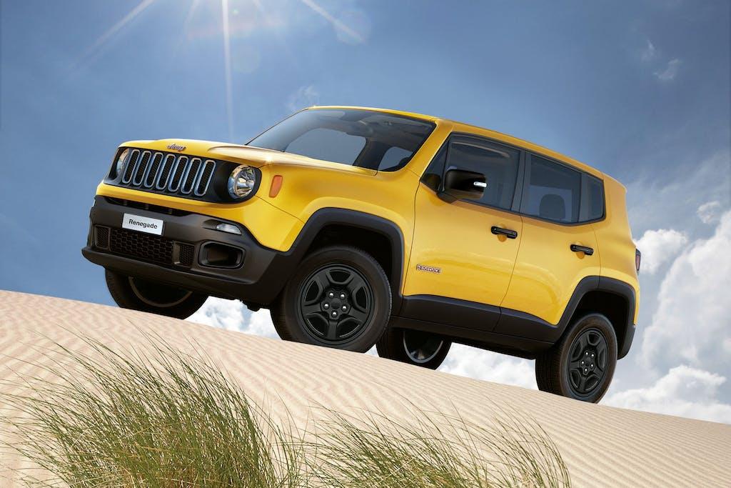 Jeep Renegade: ora anche Sport