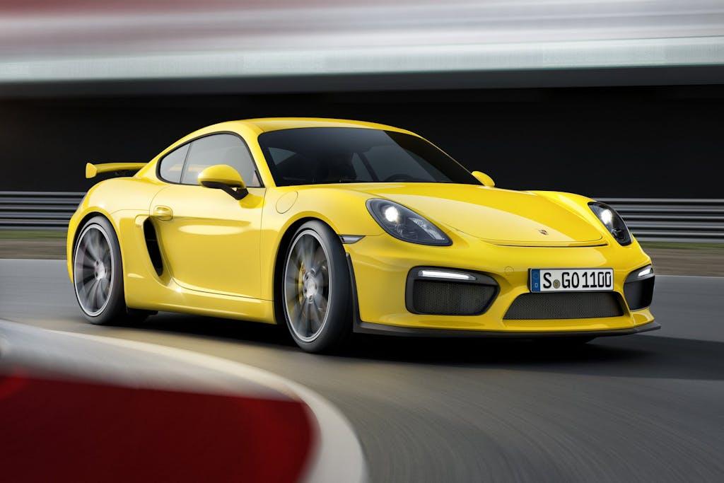 Porsche Cayman GT4: anima racing