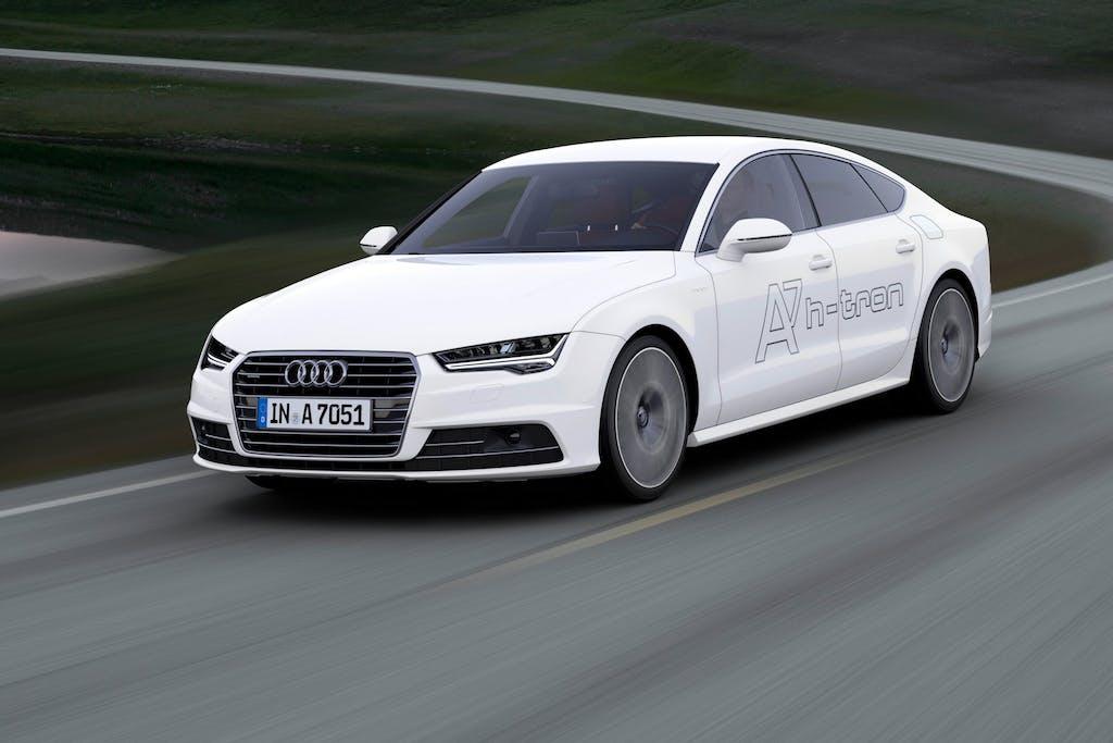 Audi A7 Sportback h-tron: 232 cv a idrogeno