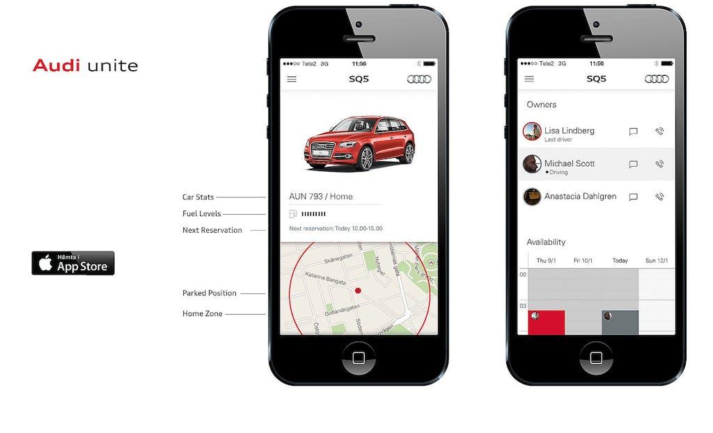 Audi Unite e Select: il car sharing è di lusso