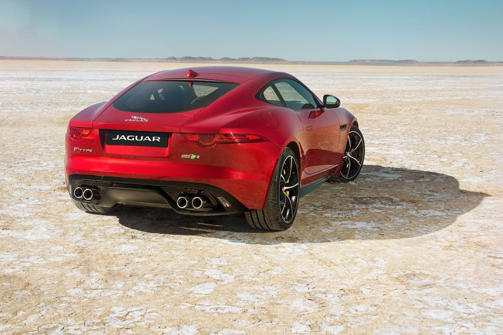 Jaguar F-Type R AWD: integrale al top