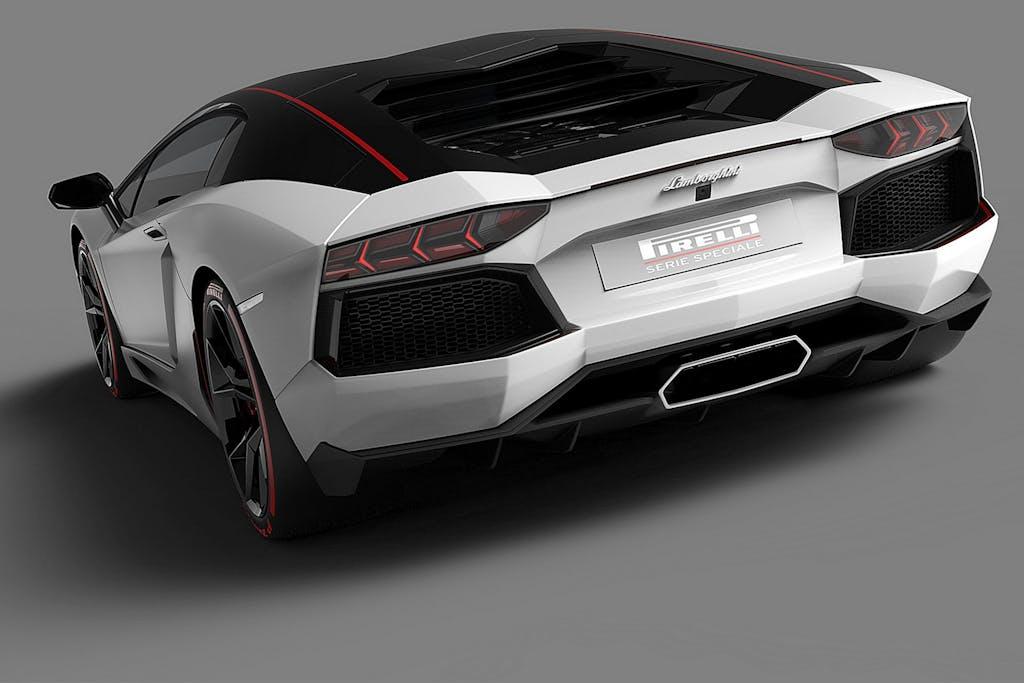 Lamborghini Aventador Pirelli: omaggio alla tradizione
