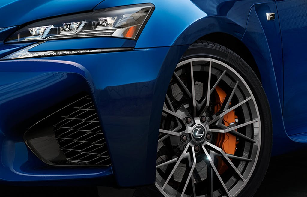 Lexus GS F: ibrido? No grazie