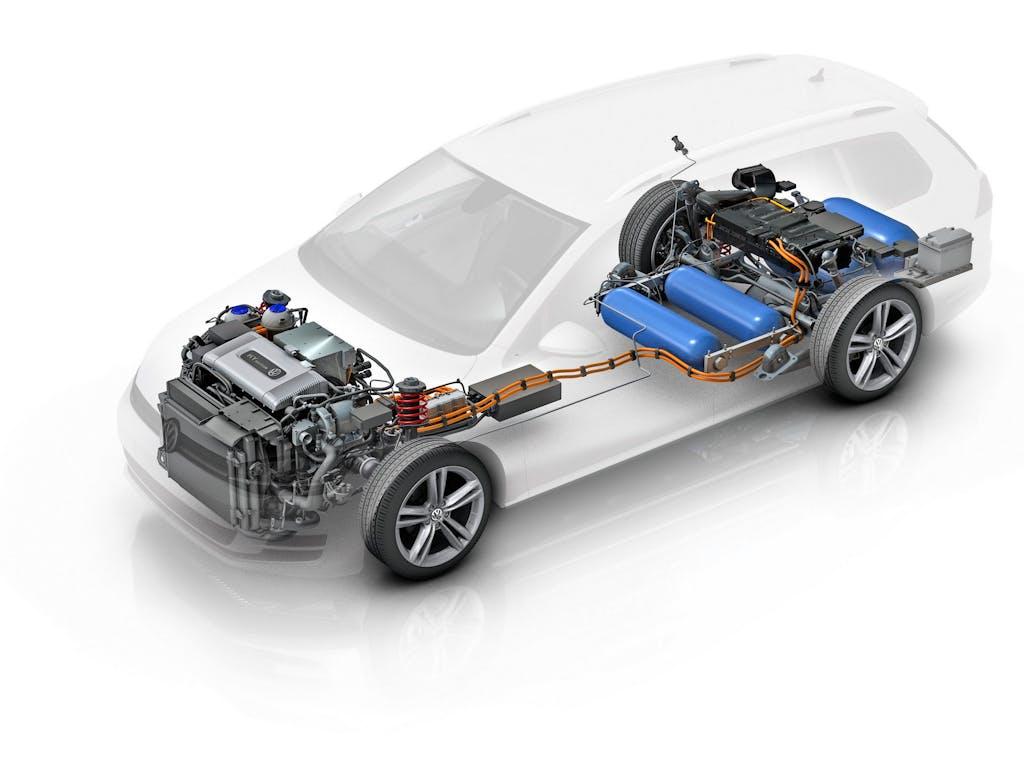 Volkswagen Golf SportWagen HyMotion: l'ora dell'idrogeno