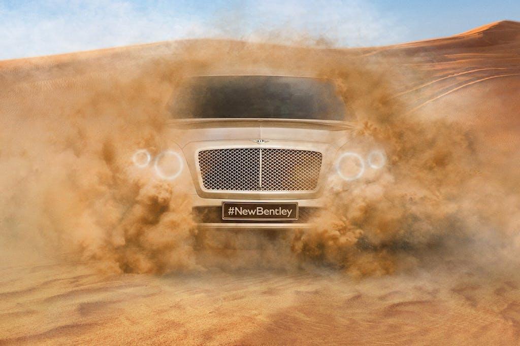 Bentley SUV: arriva nel 2016