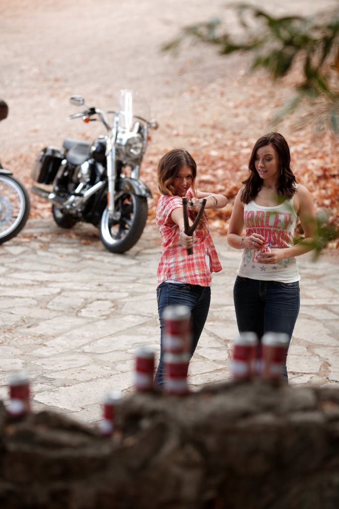Harley-Davidson Circle Star Plaid Woven Shirt