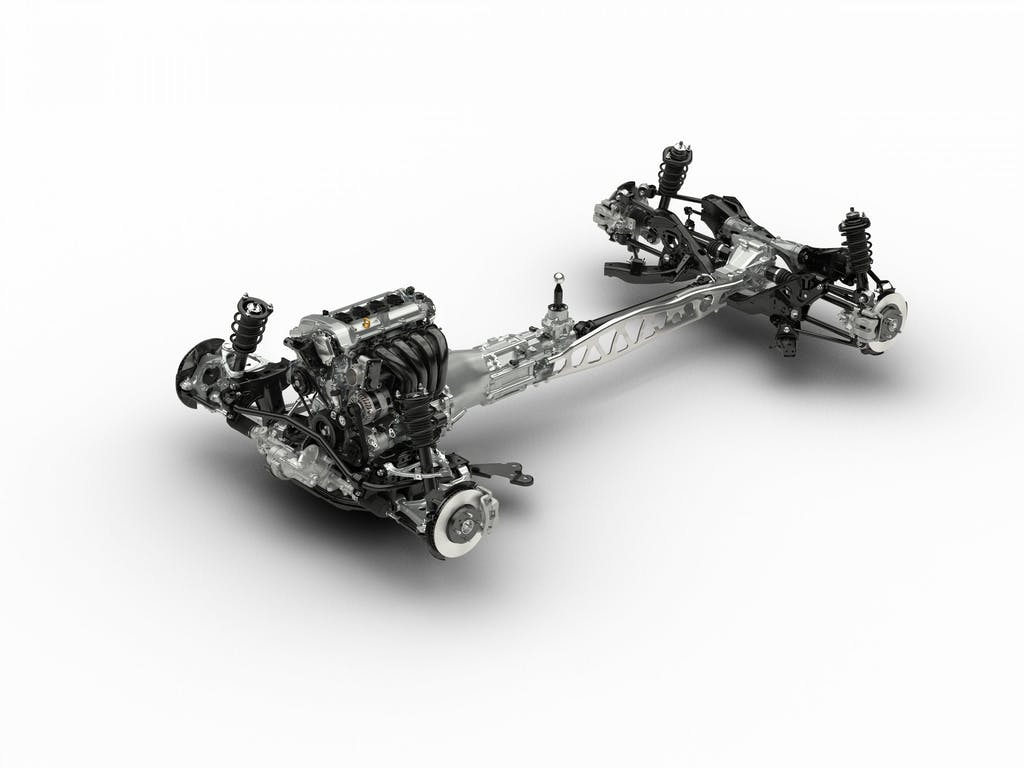 Mazda MX-5: uno chassis per regalo