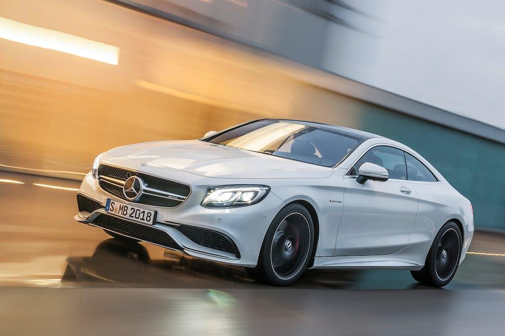 Mercedes-Benz S 63 AMG Coupé: MotoGP a 4 ruote
