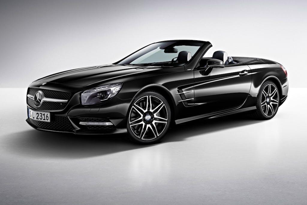 Mercedes-Benz SL 400: (bi) turbo entry level