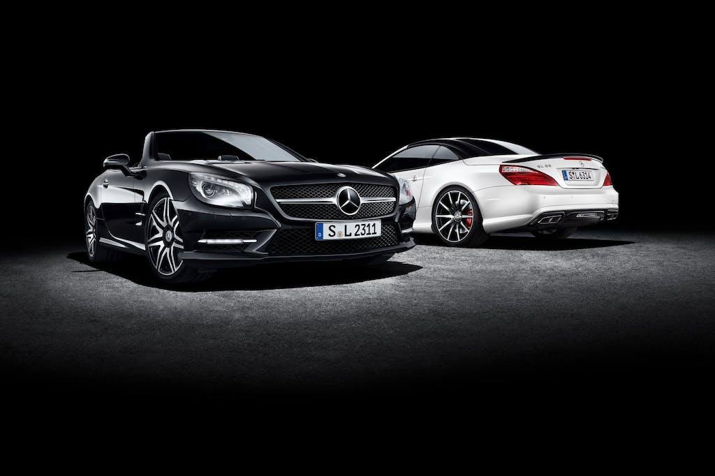 Mercedes-Benz SL e SLK: primavera in edizione speciale