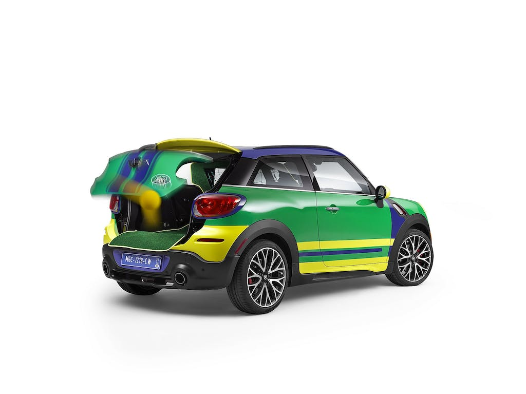 MINI Paceman GoalCooper: calcio mania