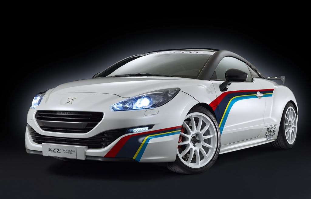 Peugeot RCZ Racing Cup Replica: pronto pista
