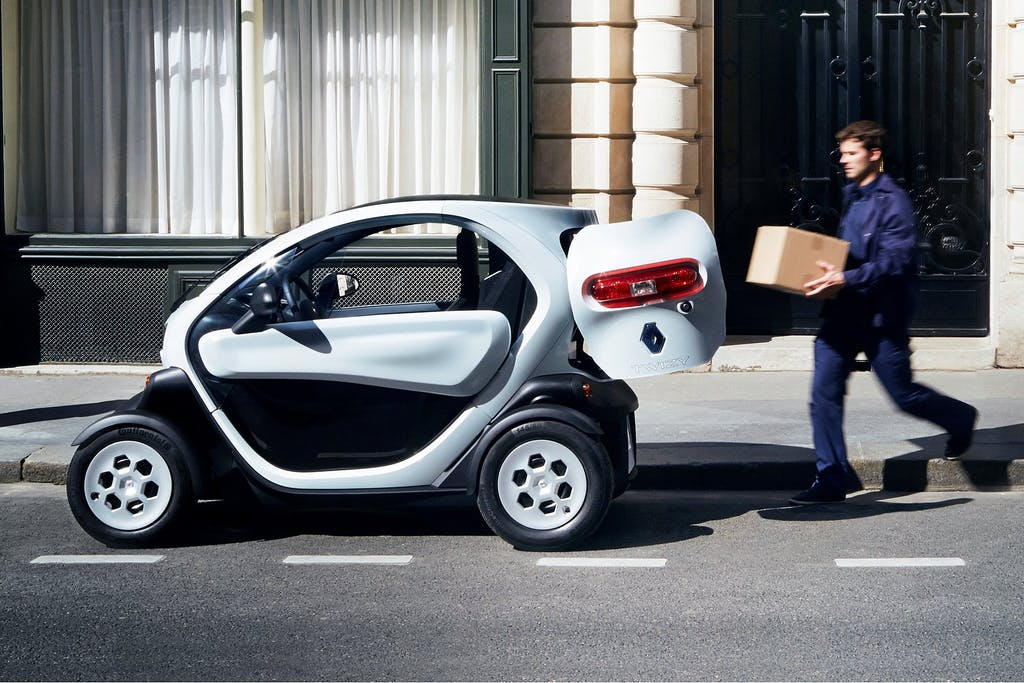 Renault Twizy Cargo: elettrica per mini carichi