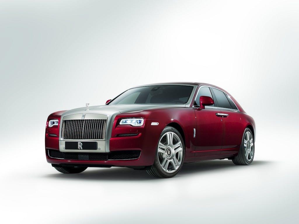 Rolls-Royce Ghost II: occhi di gatto