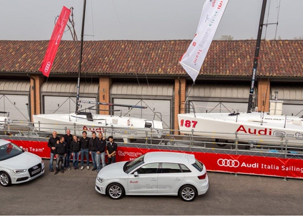 Audi tron Sailing Series: a vele spiegate