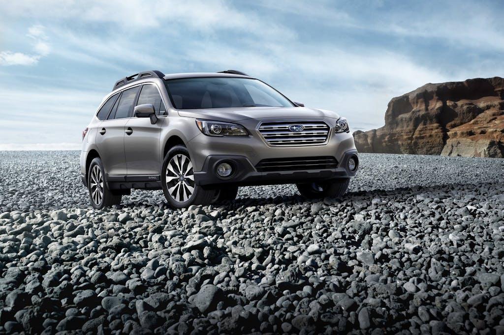 Subaru Outback 2015: 22 cm sopra il terreno
