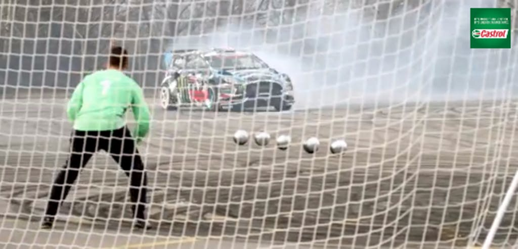 "Castrol ""Footkhana"": Ken Block vs. Neymar Jr."