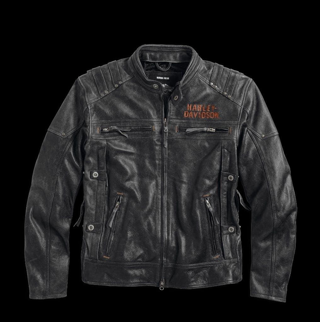 Harley-Davidson Magnum Distressed Leather Jacket