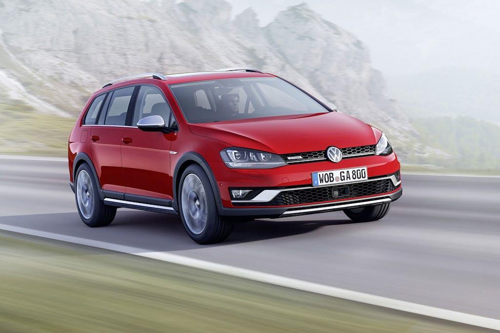 Volkswagen Golf Alltrack: Variant(e) crossover