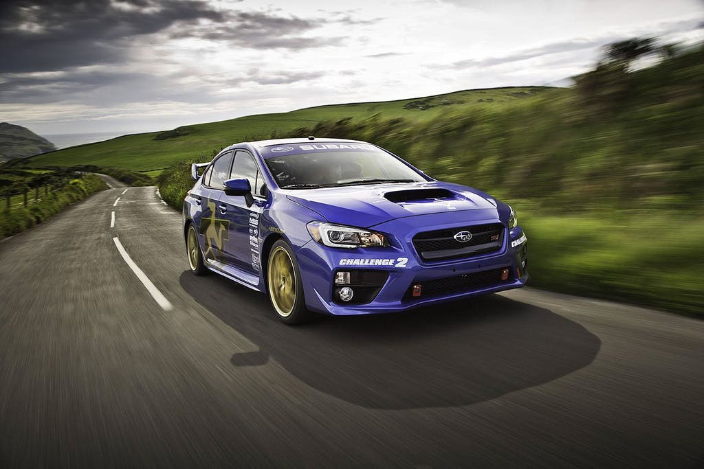Subaru WRX STI MY15: il video del record al TT