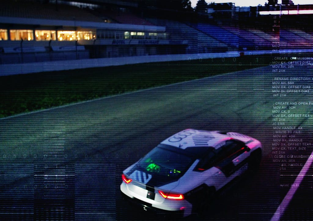 Audi guida autonoma: in pista senza pilota