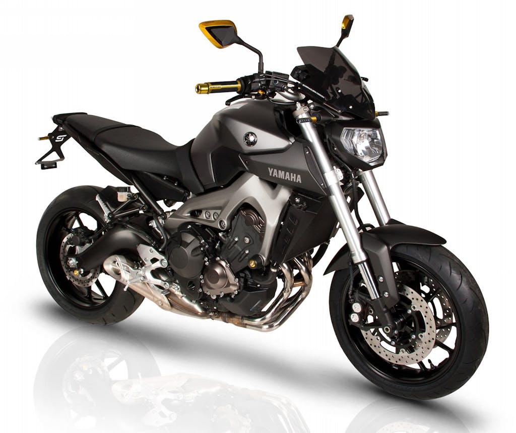 Barracuda: tutti gli accessori per la Yamaha MT-09