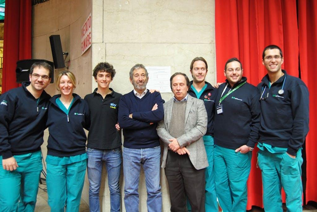 Dainese e Ospedale Niguarda di Milano per la sicurezza in moto