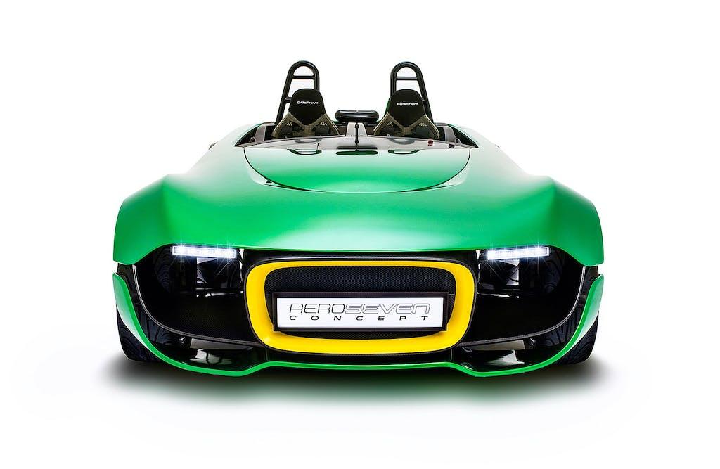 Caterham AeroSeven Concept: fast and sacrilegious